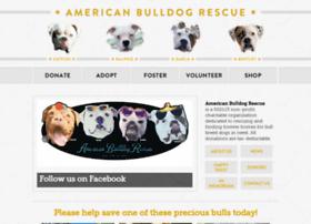 americanbulldogrescue.org
