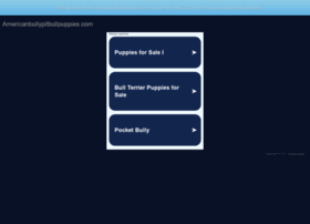 americanbullypitbullpuppies.com