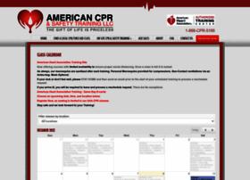 americancpr.enrollware.com