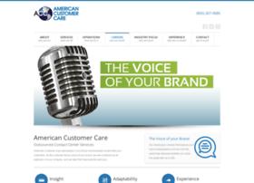 americancustomercare.com