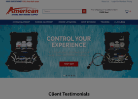 americandivingsupply.com