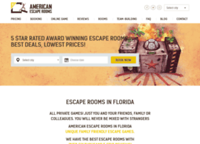 americanescaperooms.com