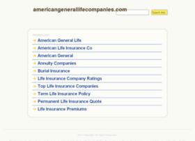 americangenerallifecompanies.com