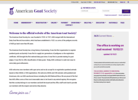 americangoatsociety.com