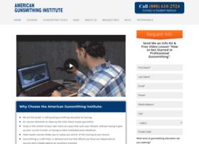 americangunsmithinginstitute.net