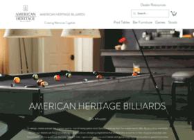 americanheritagebilliards.com