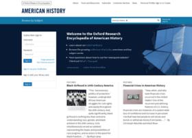 americanhistory.oxfordre.com