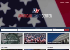 americanlegacycenter.org