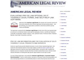 americanlegalreview.com