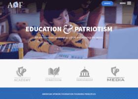 americanopinionfoundation.org