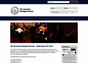 americanotologicalsociety.org