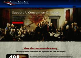 americanreformparty.org