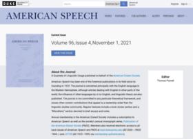 americanspeech.dukejournals.org