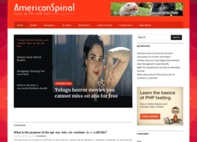 americanspinal.com