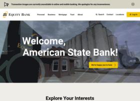 americanstatebankna.com