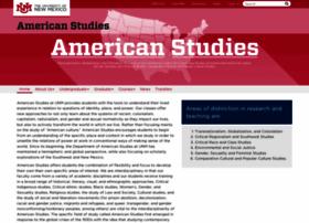 americanstudies.unm.edu