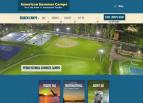 americansummercamps.com