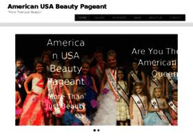 americanusabeautypageant.com