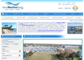 americanwaterfrontproperties.com