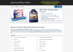 americanwheyisolate.com