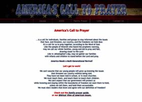 americascalltoprayer.com