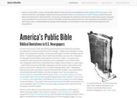 americaspublicbible.org