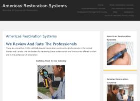 americasrestorationsystems.com