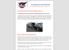 amerifreightautoshipping.com