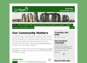amesbury.ourcommunitymatters.org.uk