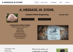 amessageinstone.com