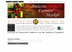 amherstfarmersmarket.com