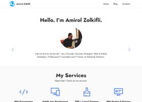 amirolzolkifli.com