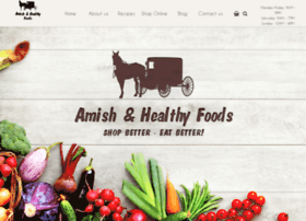 amishhealthyfoods.com