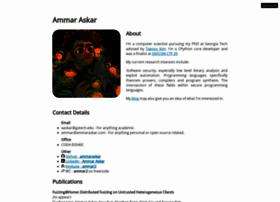 ammaraskar.com