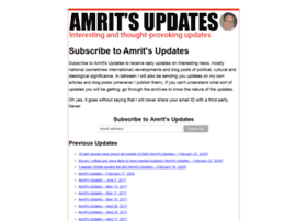 amrithallan.com