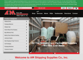 amshippingsupplies.com