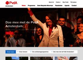 amsterdam.pvda.nl