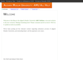 amu.org.in