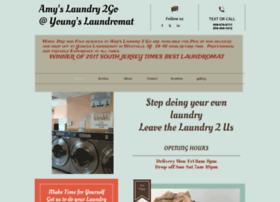 amyslaundry2go.com