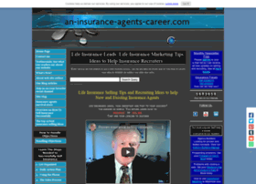 an-insurance-agents-career.com