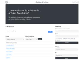 analisedeletras.com.br