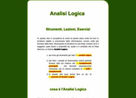 analisi-logica.it