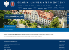 analityka.gumed.edu.pl