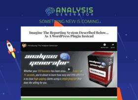 analysisgenerator.com
