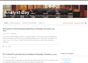 analystday.com