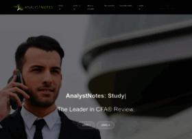 analystnotes.com