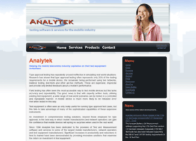 analytek.co.uk