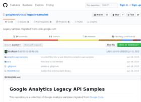 analytics-api-samples.googlecode.com