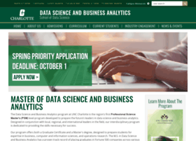 analytics.uncc.edu