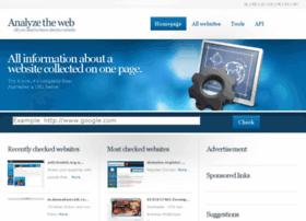 analyzetheweb.com